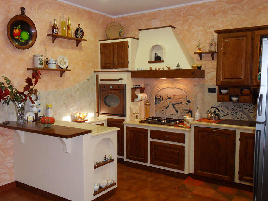 F a t falegnameria artistica toscana cucine su misura - Cucine rustiche toscana ...